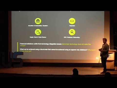 Angus Champion de Crespigny - Blockchains and Cryptocurrency in Financial Services