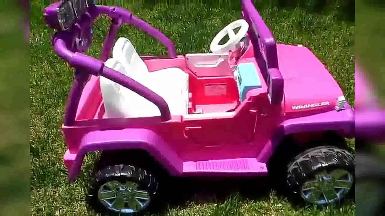 Power Wheels Barbie Deluxe Jeep Wrangler [Review & Unboxing]