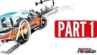 Burnout Paradise Walkthrough Part 1 - PARADISE CITY! (Xbox One S Gameplay)