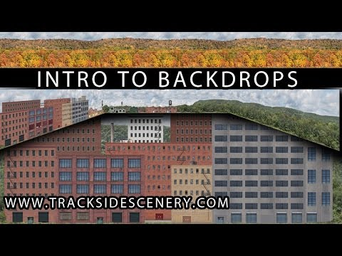 Model Railroad Backdrops – The New Generation has arrived!!