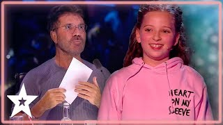 Issy Has A Brand New Trick For Simon Cowell on BGT: The Champions | Kids Got Talent