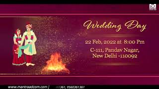 WEDDING CINEMATIC WHATSAPP INVITATION SAVE THE DATE in FCP X | FINAL CUT PRO X | Instant Download