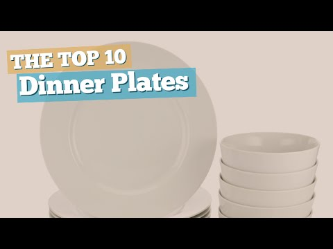 Dinner Plates // The Top 10 Best Sellers 2017