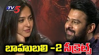 Video Prabhas & Anushka Shetty Shares Secrets of Baahubali 2 Movie | TV5 News download MP3, 3GP, MP4, WEBM, AVI, FLV Oktober 2018