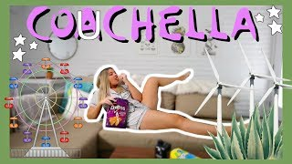 COUCHELLA 2019 OUTFITS TRY-ON *~ (a pajama haul)