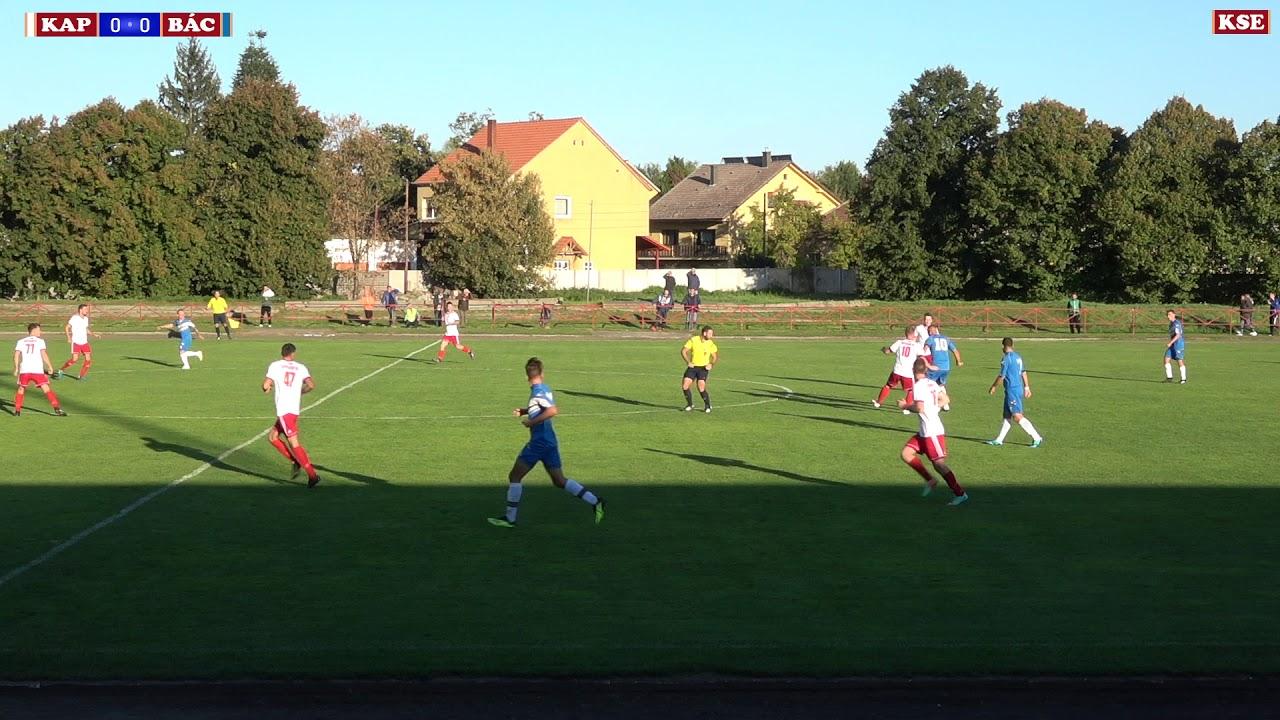 KAPUVÁRI SE - ÜSTÖKÖS FC - BÁCSA  (0-0)  0-1