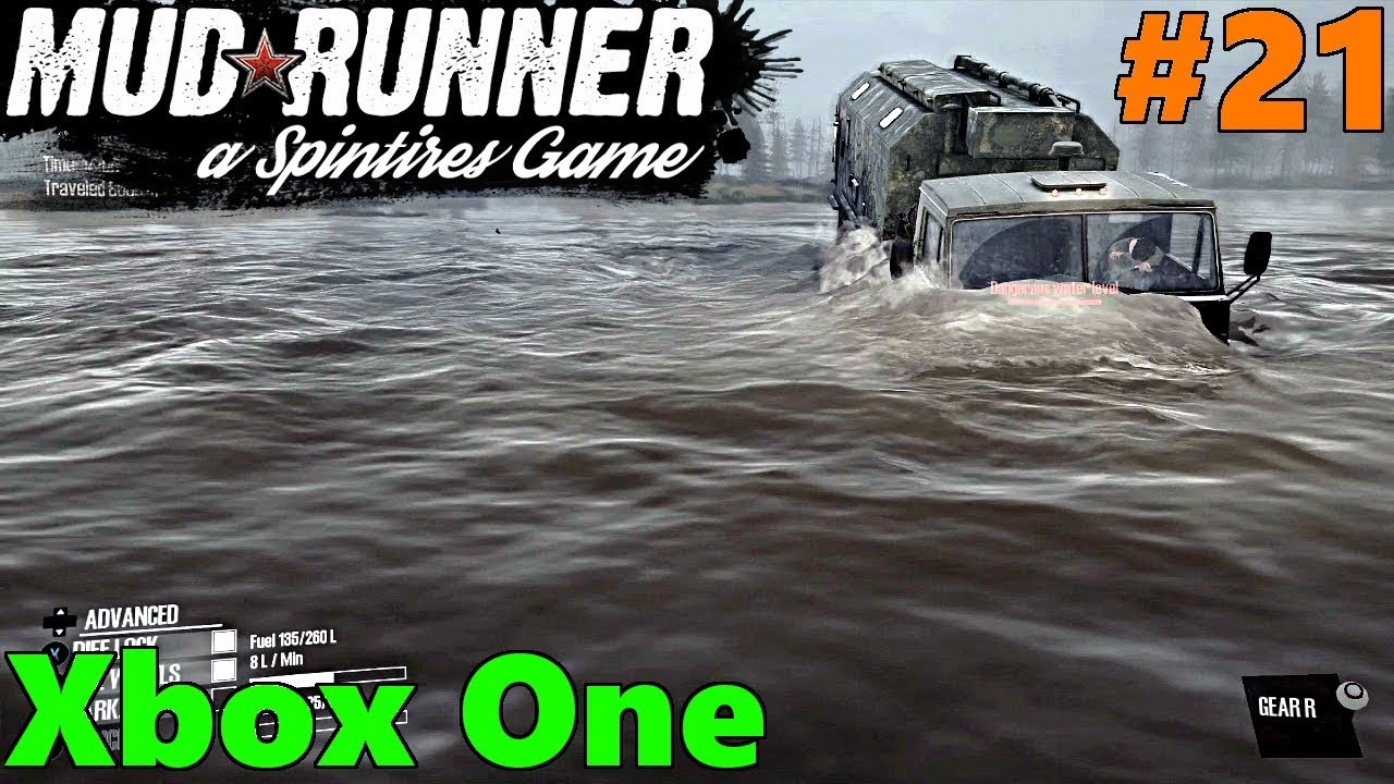 spintires mud runner xbox one let 39 s play part 21. Black Bedroom Furniture Sets. Home Design Ideas