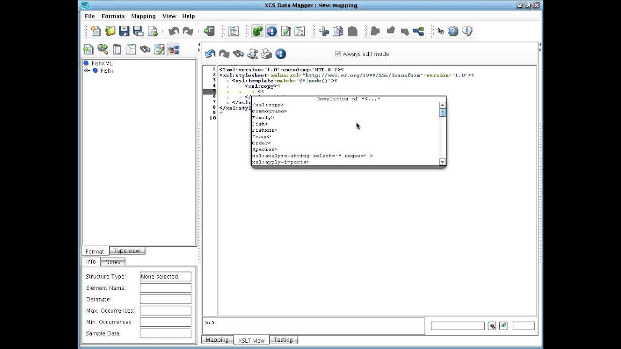 PilotFish Data Mapper XSLT Tutorial Part 4 - Tweaking XML with ...
