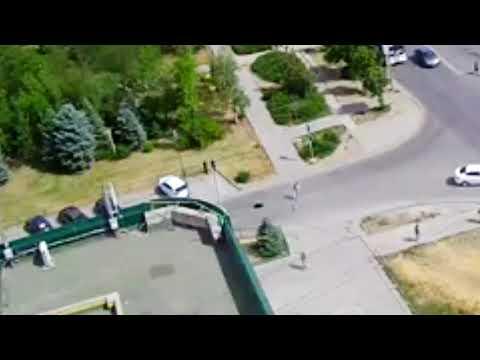 Провал дороги на ул. Нариманова (13.06.18)