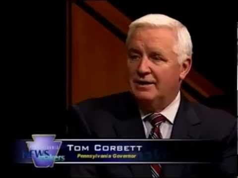 Governor Tom Corbett on Pennsylvania Newsmakers