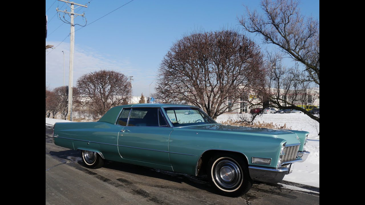 1968 Cadillac Coupe Deville Coupe ((SOLD)) - YouTube