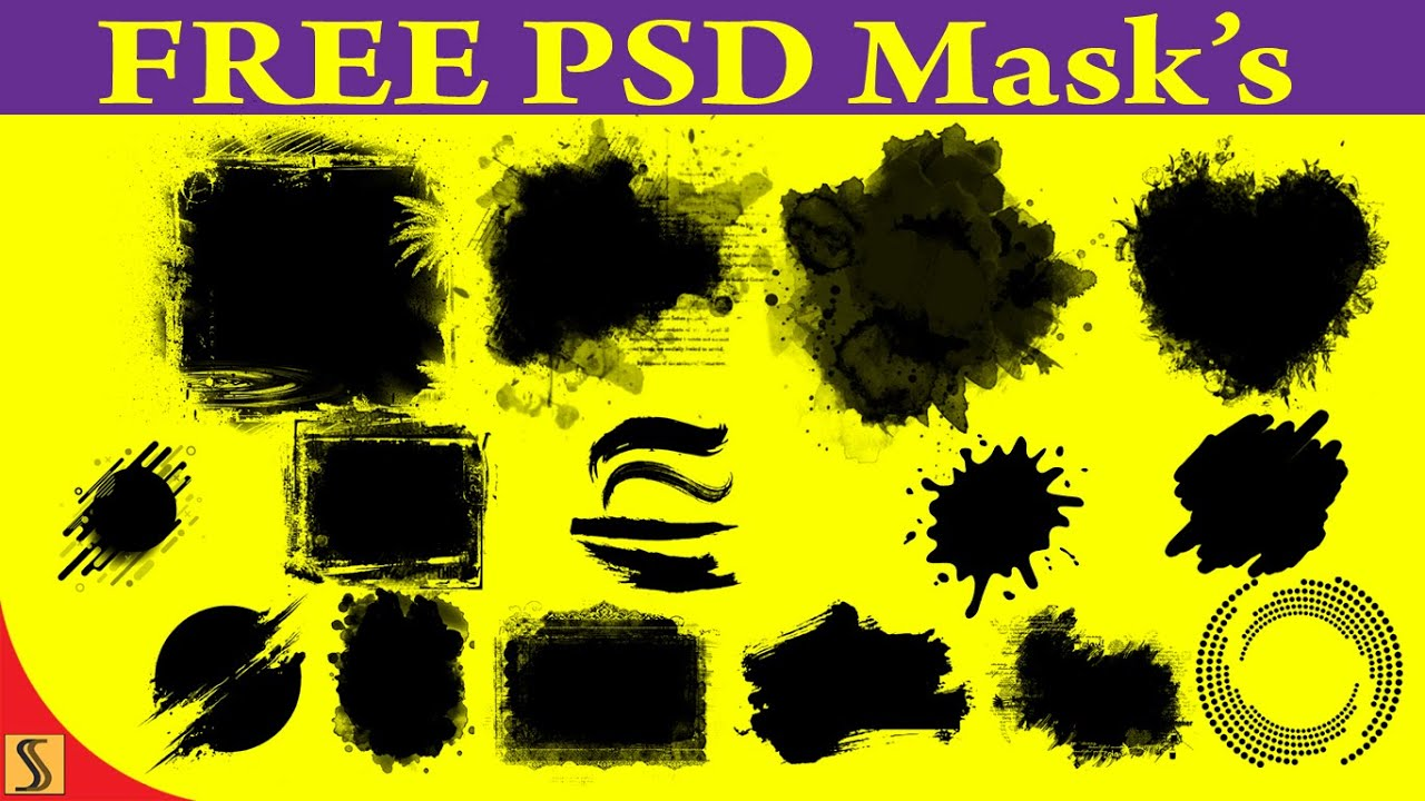 Free Download mask shape PSD  for photo Album  Templates [ss free psd]#625