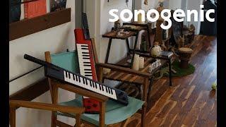 """弾けなくても""""練習いらず""""ですぐに演奏の楽しさを実感できる「JAM機能」を搭載 ヤマハ ショルダーキーボード sonogenic『SHS-500』"""