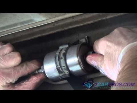 fuel filter replacement chevrolet silverado 1998 2003 youtube fuel filter replacement chevrolet
