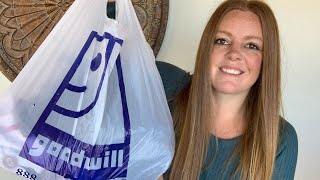 Goodwill Double Color Dollar Day Haul - 61 Items To Resell On Poshmark & eBay