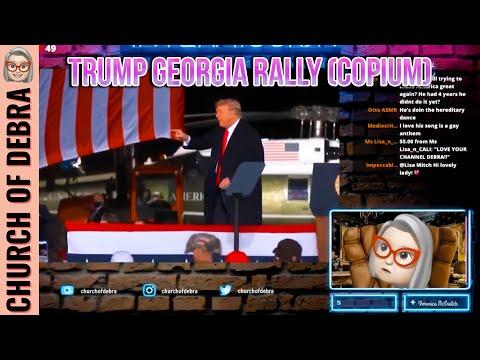 Trump Georgia Rally   Debra Live
