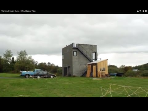 Inside Simon Unger's Cornell cube house -- OffBeat Spaces Video