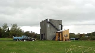 Inside Simon Unger's Cornell cube house -- OffBeat Spaces Video Thumbnail
