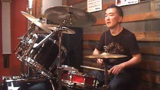 Toto - Goodbye Elenore - drum cover by KATSUO
