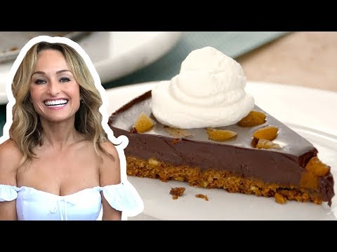 Giada De Laurentiis Makes A Chocolate Pistachio Fudge Tart | Food Network