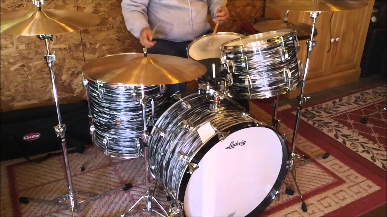 011e8697804c 1994 Ludwig FAB 4 piece outfit - YouTube