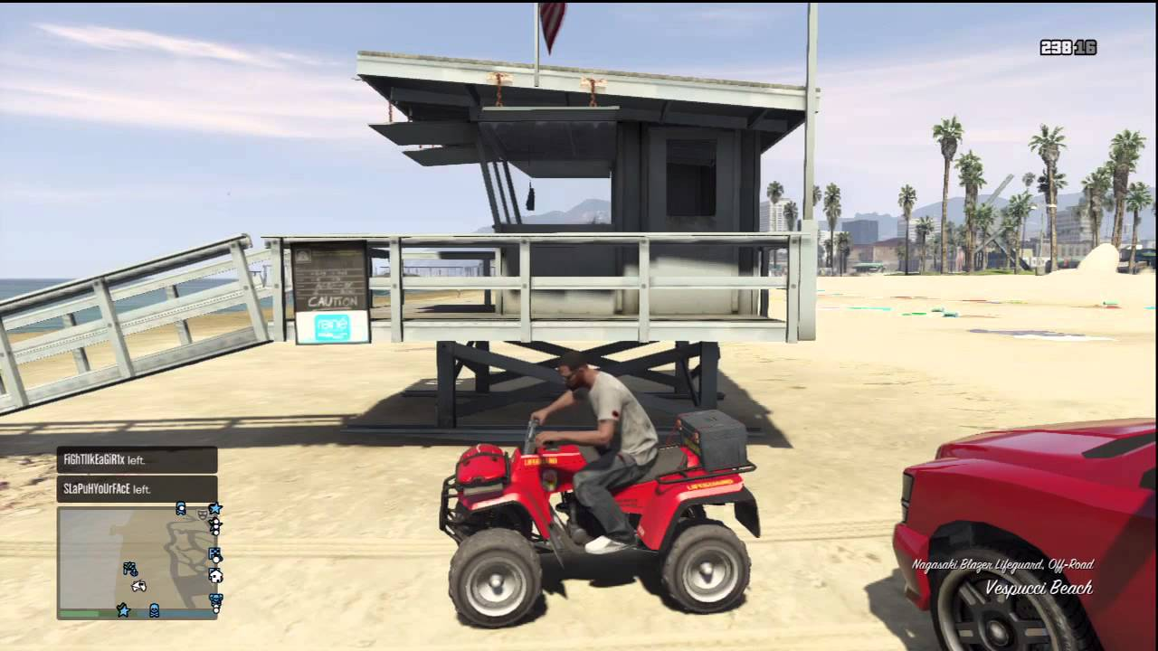 GTA 5 Online: Where To Find The Liuard Atv - YouTube Beach Life Guard Golf Cart on golf cart shopping, golf cart surfing, golf cart batman, golf cart paint ideas, golf cart fishing, golf cart driver,