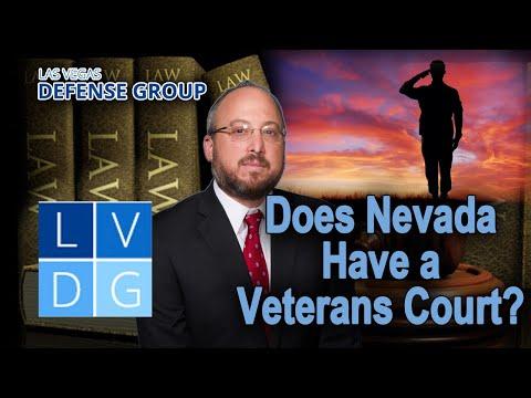 Does Nevada have a veterans court? Las Vegas criminal defense attorneys explain.