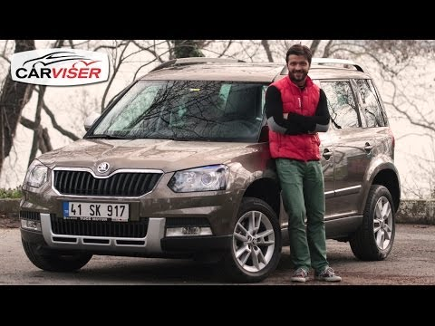 Skoda Yeti 1.6 TDI DSG Test Sr Review English subtitled