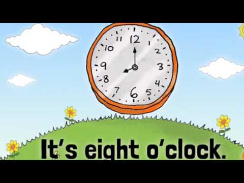 Telling time song for second grade