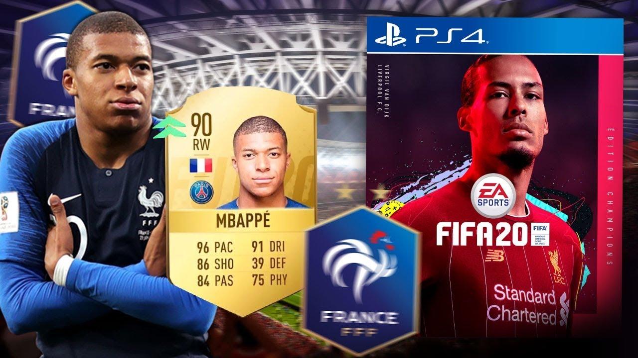LES NOTES DES 23 CHAMPIONS DU MONDE FRANÇAIS SUR FIFA 20 !!?