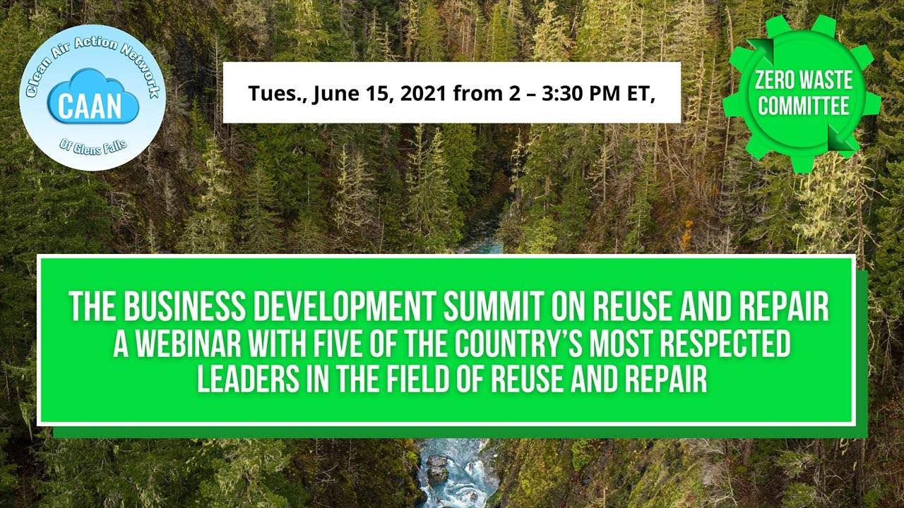 The Business Development Summit on Reuse and Repair