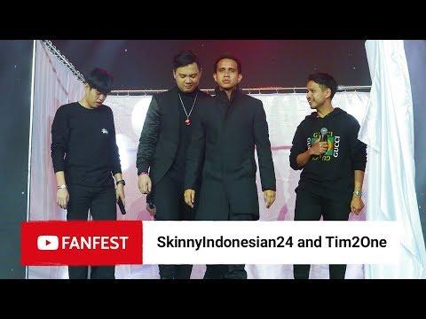 SkinnyIndonesian24 & Tim2one @ YouTube FanFest Jakarta 2018