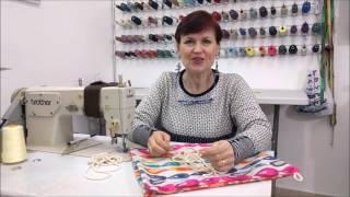 How to make a Drawstring bag? \ איך מכינים תיק שרוך?
