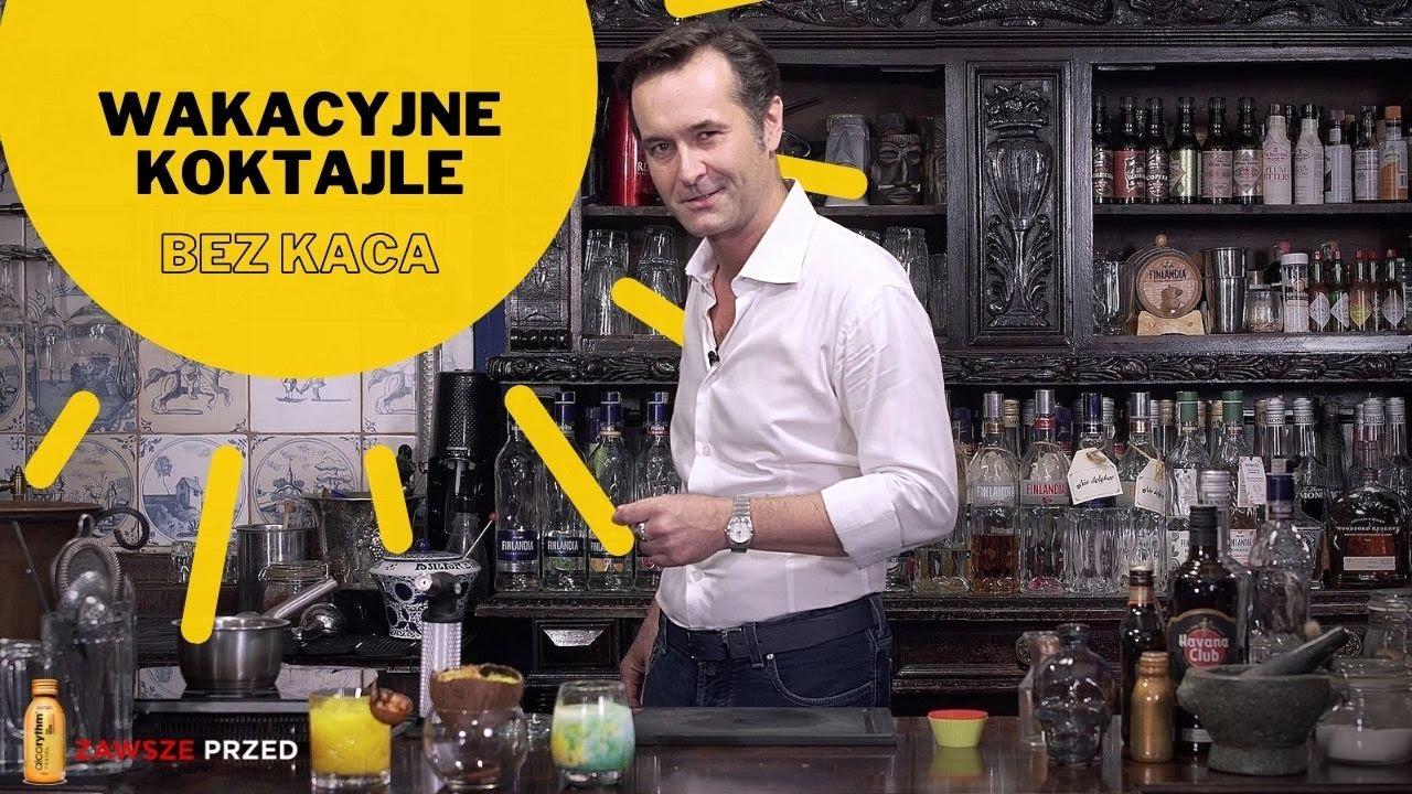 Przepisy na wakacyjne koktajle bez kaca z alcorythm® | Jak zrobić drinki w kokosie i syrop falernum!