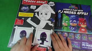 PJ Masks – Unboxing PJ Masks Magazine Bumper Issue!
