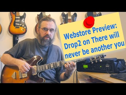 Webstore Preview: Drop2 voicings on There will never be another you