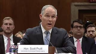 Tom Demands Answers from Pruitt on Ethics Violations