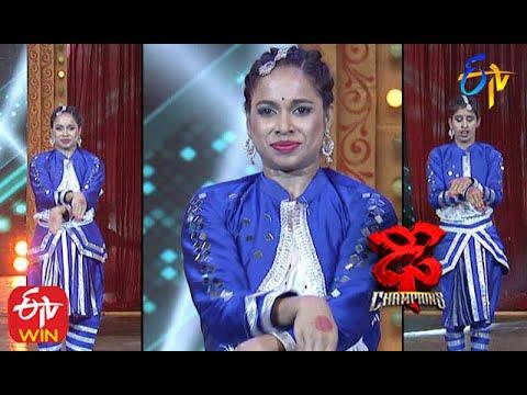 Tejashwini Performance | Dhee Champions |   26th August 2020   | ETV Telugu
