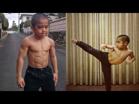 The Strongest Kid In The World ''Mini Bruce Lee'' |  Ryusei Imai | Workout Compilation