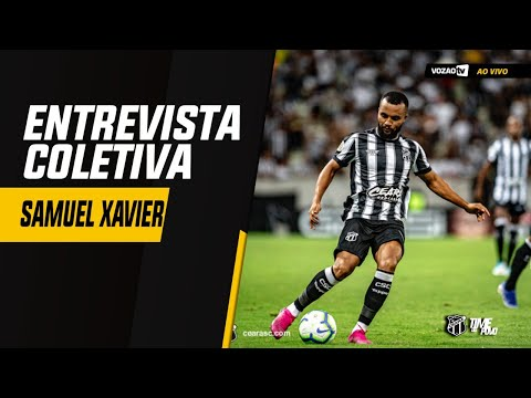 COLETIVA Coletiva Samuel Xavier   02092019  Vozão TV