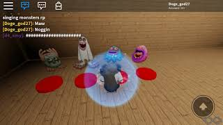 My singing monsters ROBLOX
