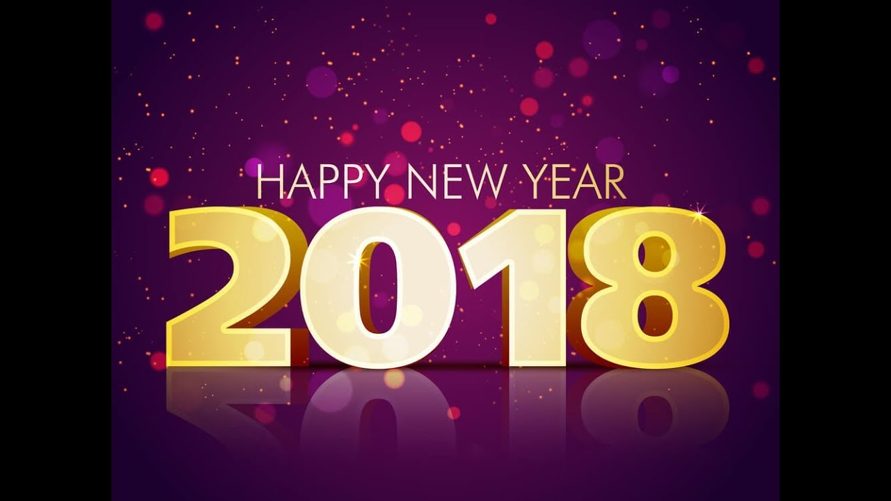 Happy New Year 2018 Congratulations 65