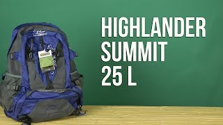 Розпакування Highlander Summit 25 Purple 924232
