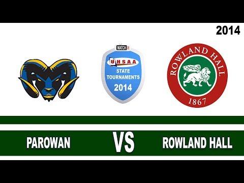 2014 2A Boys' Soccer State Championships: Parowan vs Rowland Hall