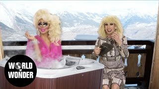 Enjoy the video? Subscribe here! http://bit.ly/1fkX0CV RuPaul's Drag Race season 7 queens Katya Zamolodchikova and Trixie Mattel in 'UNHhhh.' It's a show ...