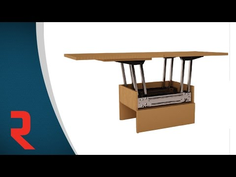 Butterfly - Smart Table Mechanism