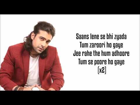 Dhadkan (Lyrics) -  Jubin Nautiyal, Palak Muchhal | Amavas |