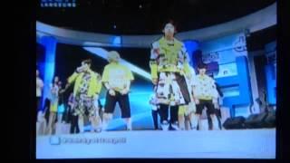 140121 lc9 dahsyat perform mama beat