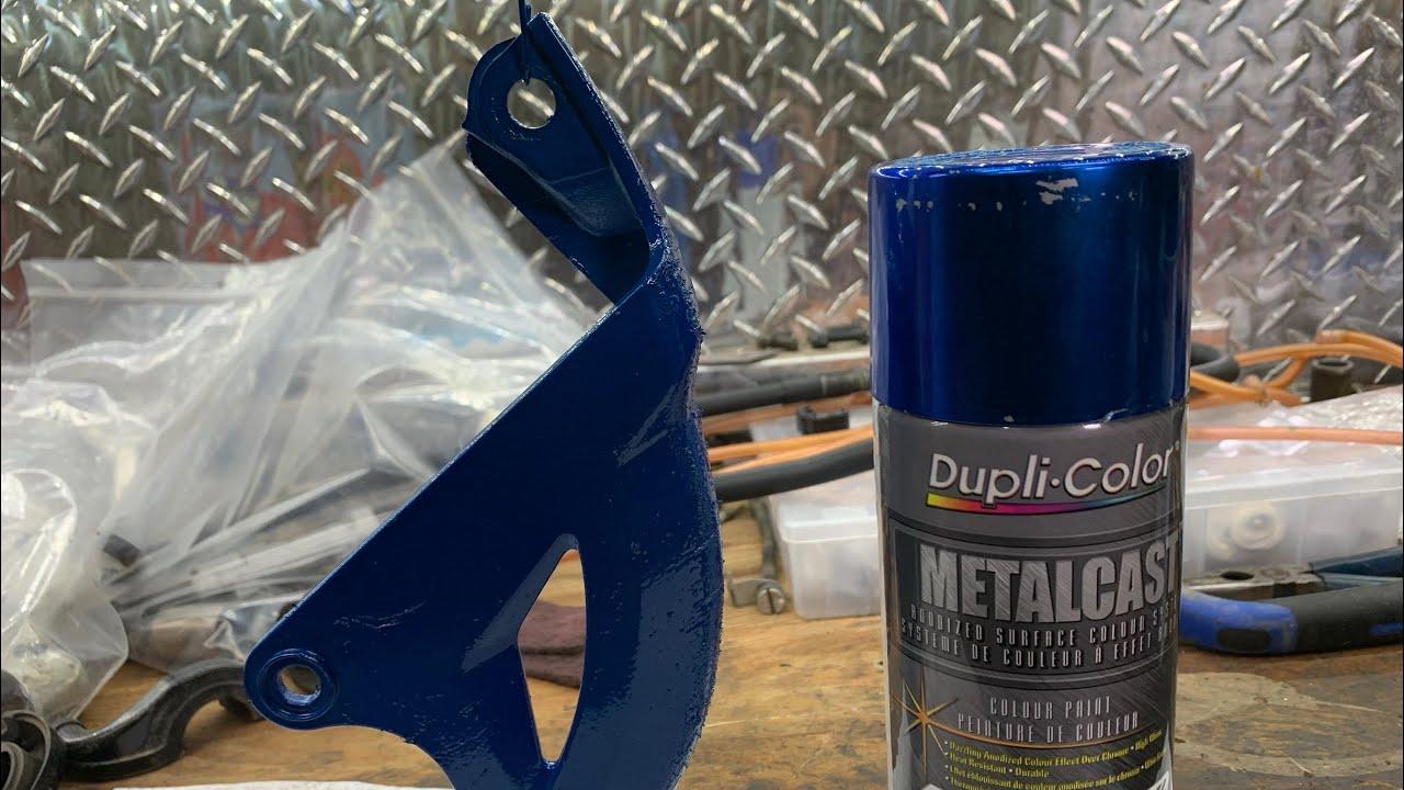 Download Dupli-color METALCAST anodized surface colour system *BLUE (does it work on plastic?)