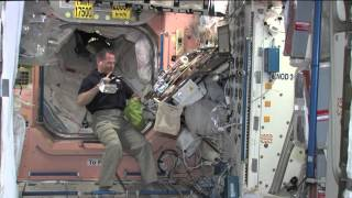 New Space Station Commander Previews Thanksgiving in Orbit